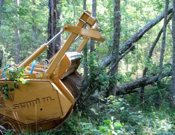 Мульчер лесной своими руками